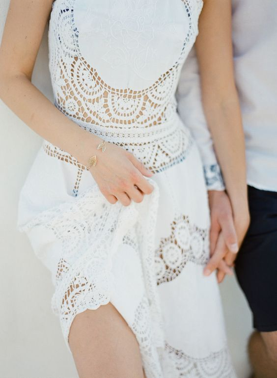 white-lace-dress-shopbop-style http://itgirlweddings.com/santorini-honeymoon-inspiration/