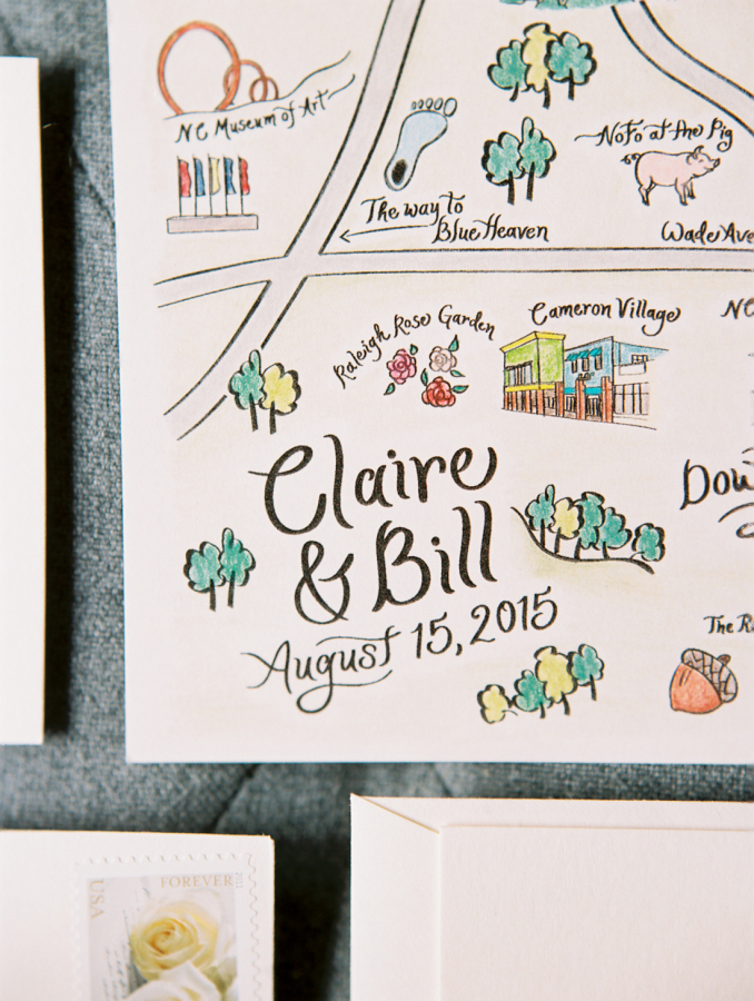 custom-life-map-on-wedding-invitation http://itgirlweddings.com/southern-white-tie-wedding/
