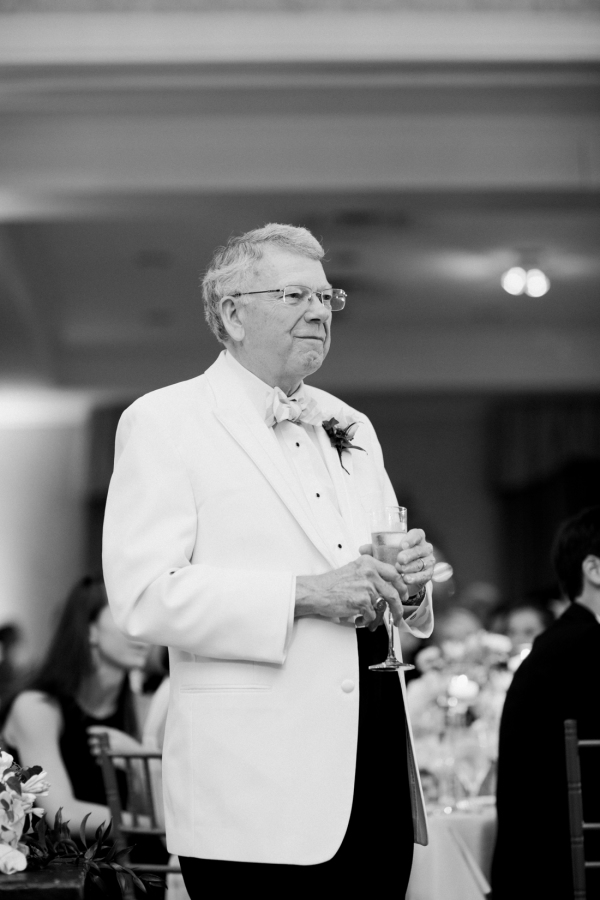 father-of-the-bride-white-tie http://itgirlweddings.com/southern-white-tie-wedding/