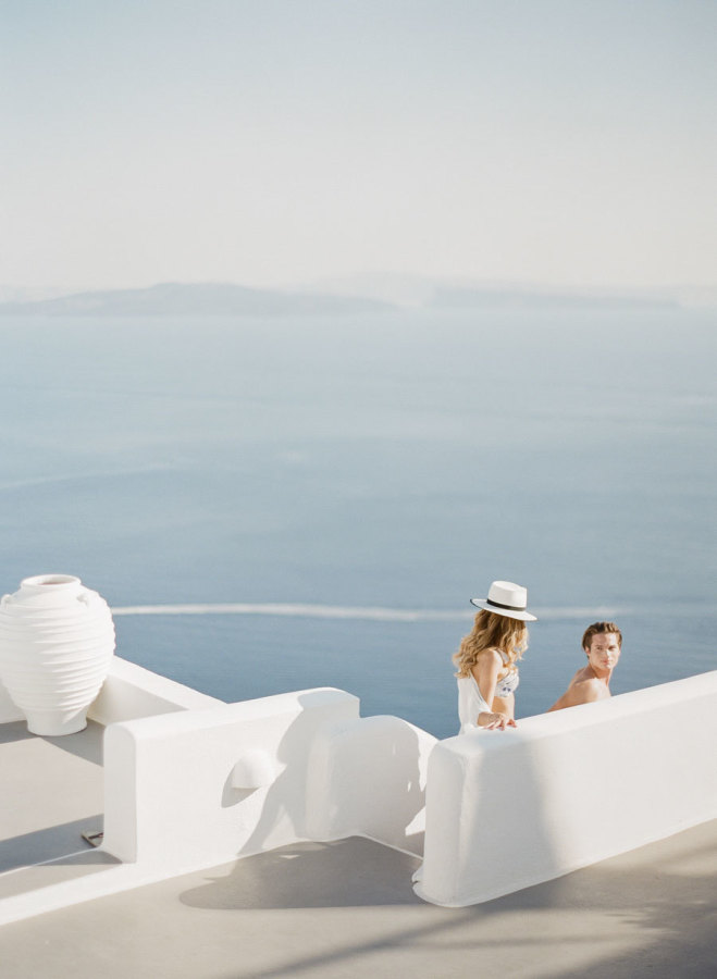 Santorini-wedding-inspiration http://itgirlweddings.com/santorini-honeymoon-inspiration/