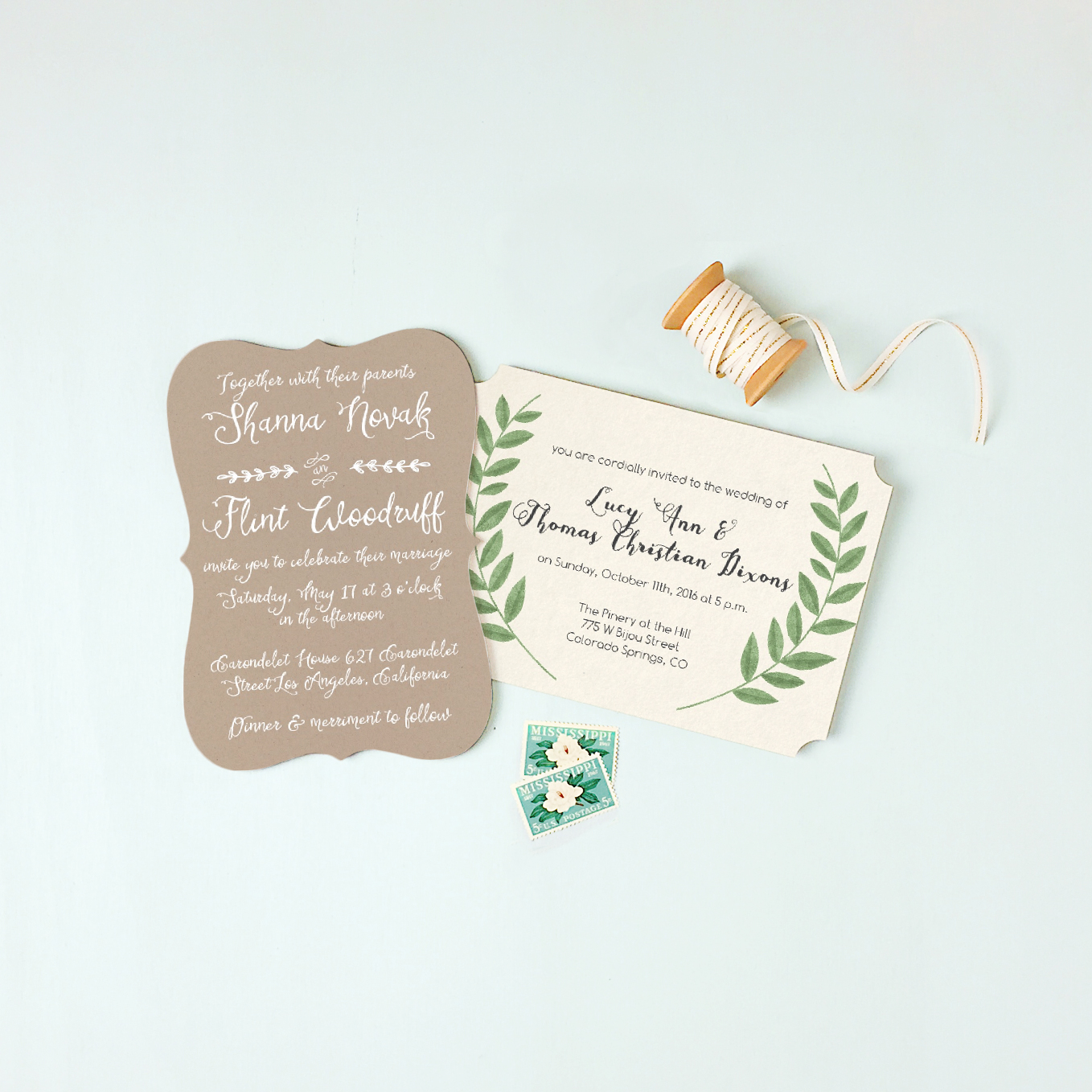 simple-wedding-invitations http://itgirlweddings.com/new-collections-from-basic-invite/