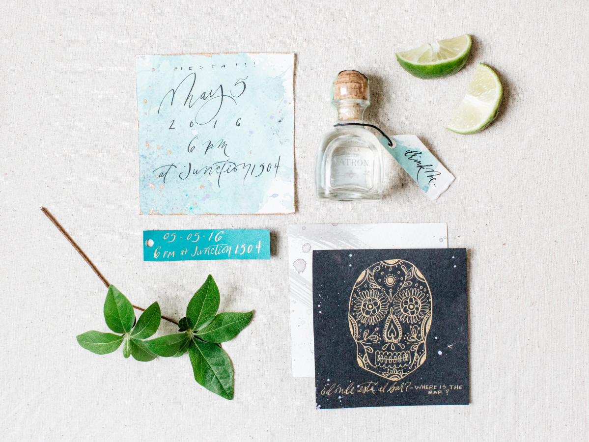 mexican-themed-engagement-party http://itgirlweddings.com/fiesta-themed-engagement-party/