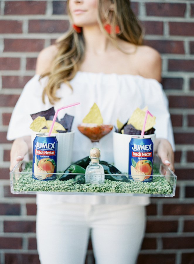 margarita-party-tray http://itgirlweddings.com/fiesta-themed-engagement-party/