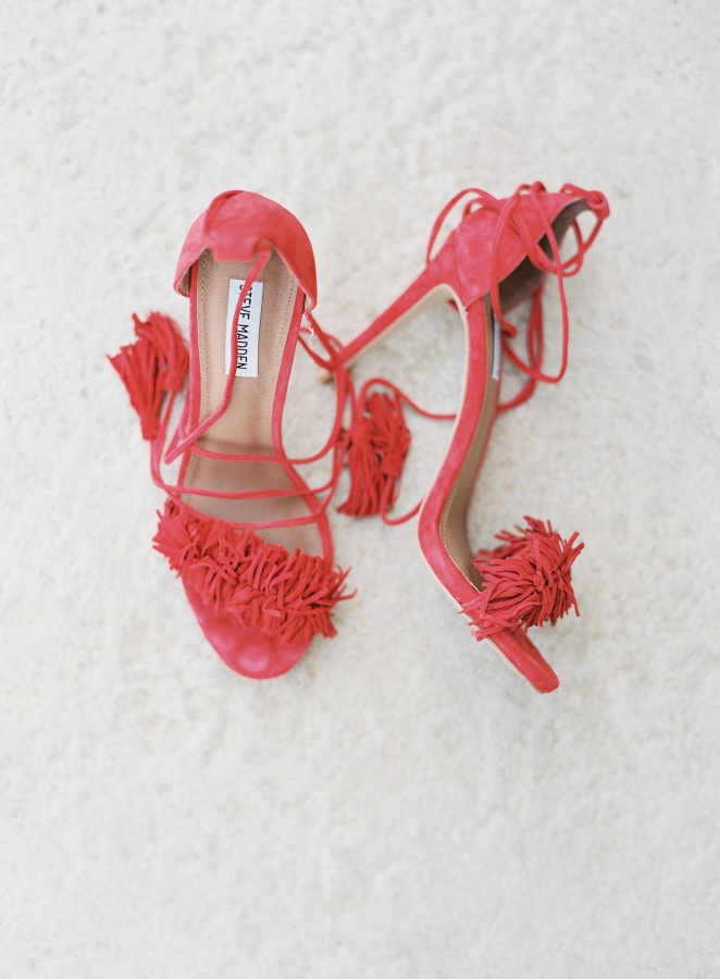 red-tassel-heels http://itgirlweddings.com/fiesta-themed-engagement-party/