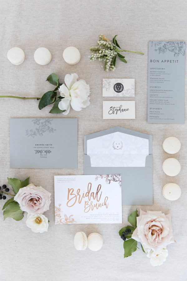 bridal-brunch-invitation-suite http://itgirlweddings.com/tips-for-creating-a-photo-worthy-bridal-shower/