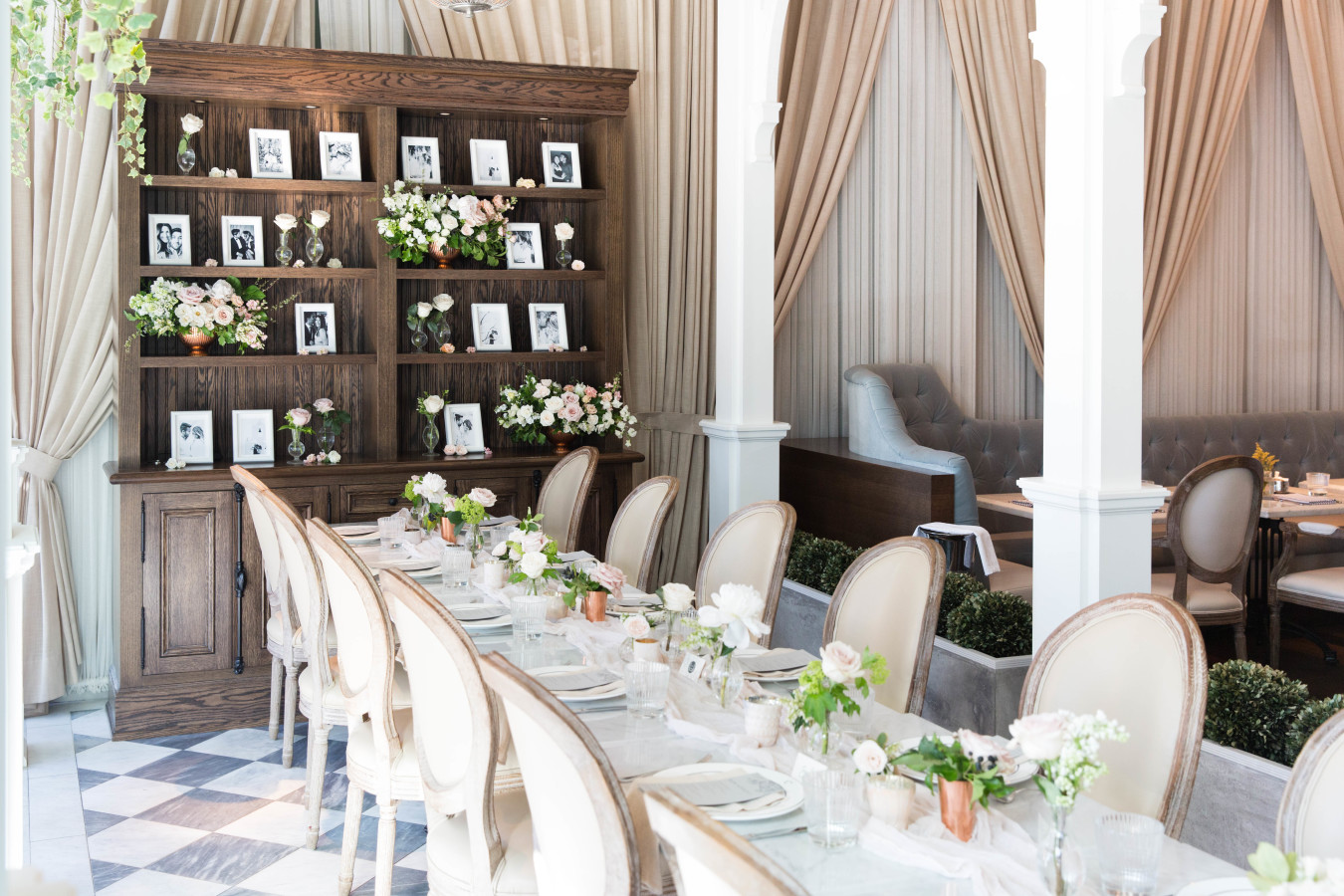 bridal-brunch-table http://itgirlweddings.com/tips-for-creating-a-photo-worthy-bridal-shower/