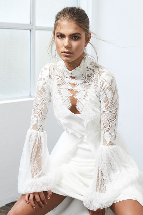 modern-wedding-dresses http://itgirlweddings.com/new-collection-from-grace-loves-lace/