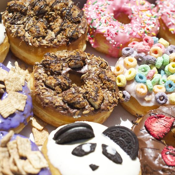 donuts-with-candy http://itgirlweddings.com/bachelorette-party-alternatives/