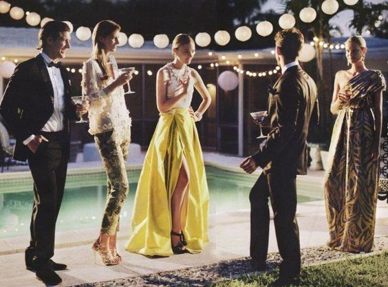 posh wedding guests, singles at a wedding http://itgirlweddings.com/singles-table/