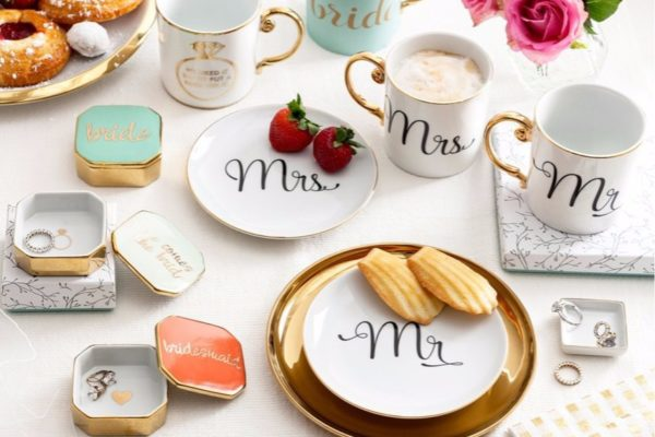 TOP 10 WEDDING REGISTRY CATEGORIES
