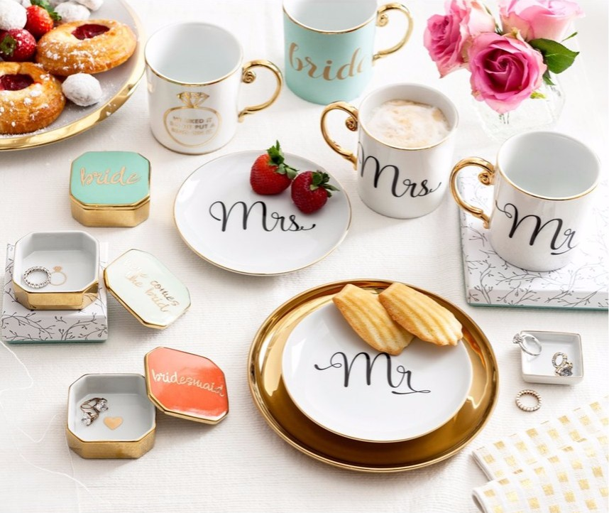 Top 10 wedding registry categories it girl weddings he liked it so he put a ring on it mug junglespirit Images