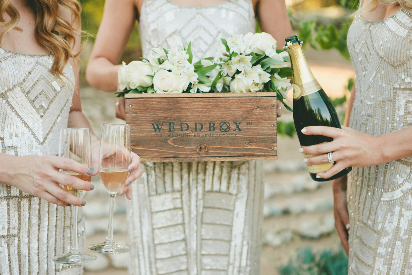 wedding-emergency-kit-box http://itgirlweddings.com/what-to-put-in-your-bridal-emergency-kit/