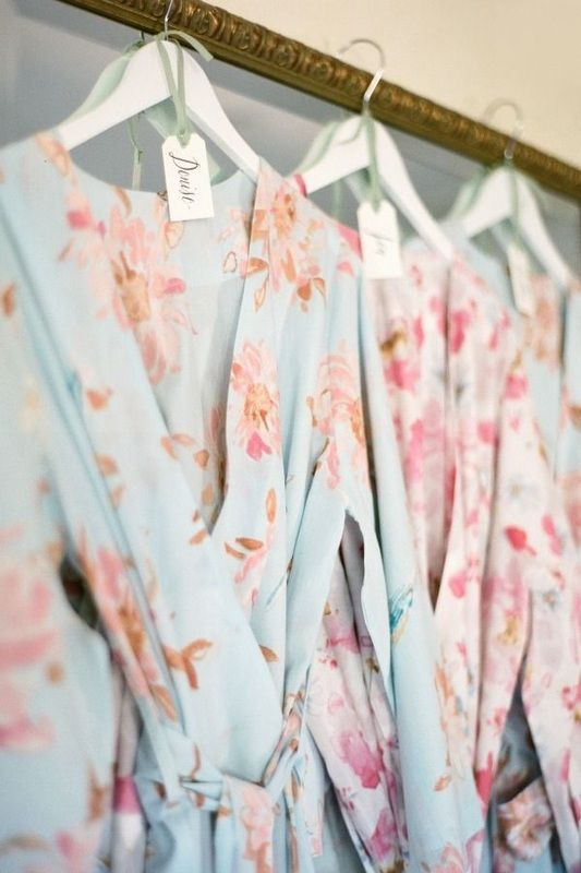 hanging-plum-pretty-sugar-robes http://itgirlweddings.com/9-quick-tips-keep-flawless-wedding-day/