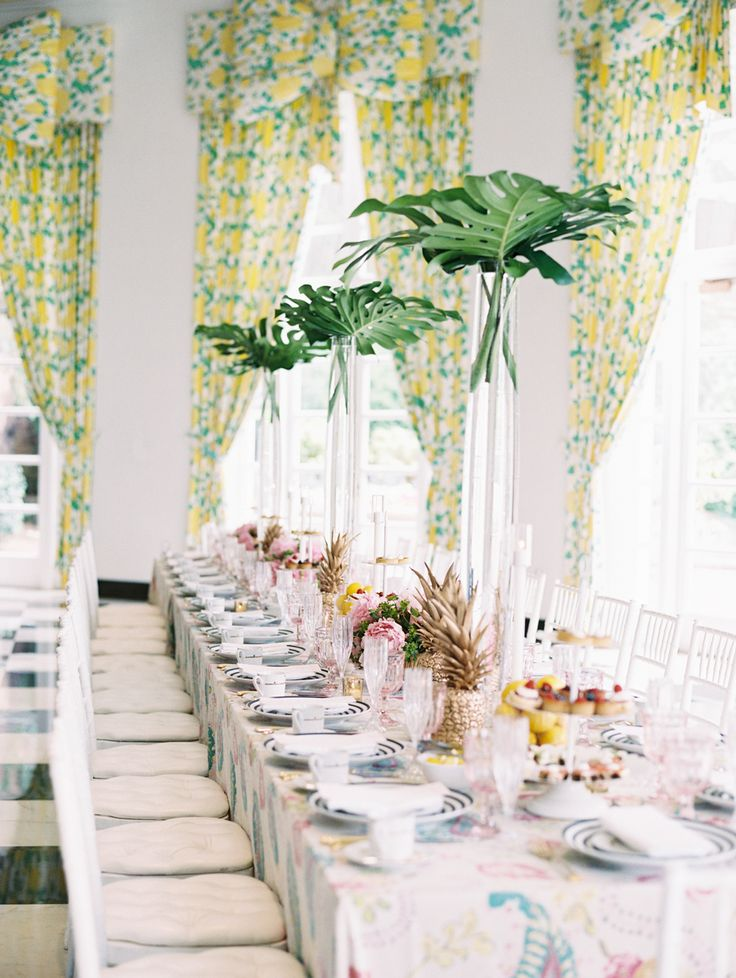 pineapple bridal shower http://itgirlweddings.com/5-ways-save-money-bridesmaid/