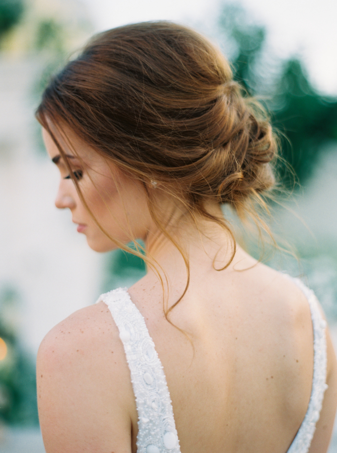 bride hair up do http://itgirlweddings.com/timeless-traditional-style/