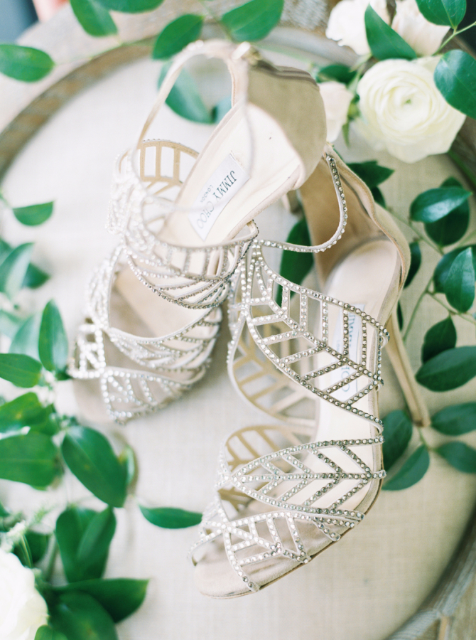 crystal jimmy choo wedding shoes http://itgirlweddings.com/timeless-traditional-style/