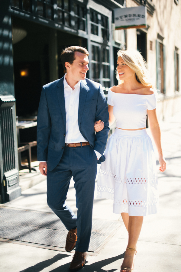 engagement shoot in new york city http://itgirlweddings.com/capturing-their-love-of-new-york/
