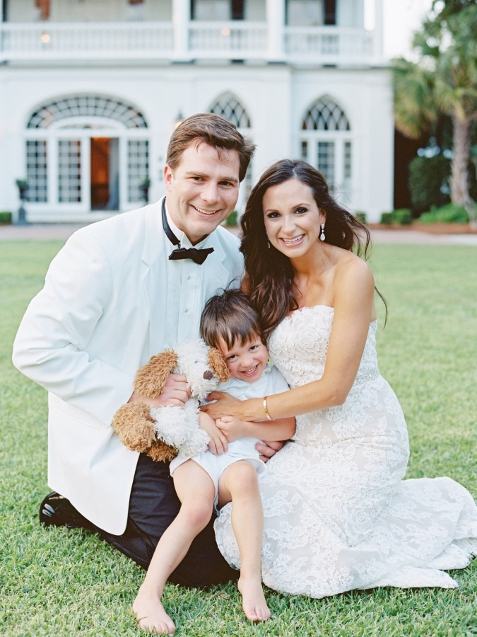 black tie wedding ring bearer http://itgirlweddings.com/southern-wedding-with-a-surprise-grand-exit/
