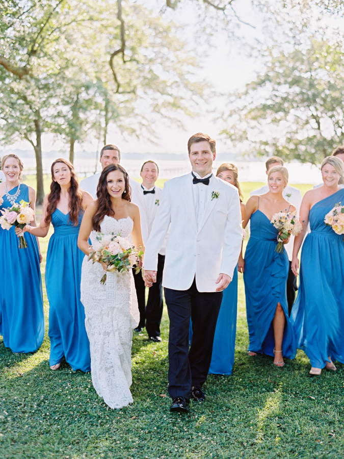 SOUTHERN WEDDING WITH A SURPRISE GRAND EXIT http://itgirlweddings.com/southern-wedding-with-a-surprise-grand-exit/
