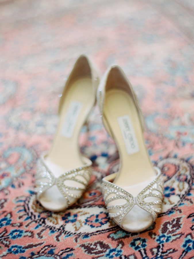 jimmy choo wedding shoes http://itgirlweddings.com/southern-wedding-with-a-surprise-grand-exit/
