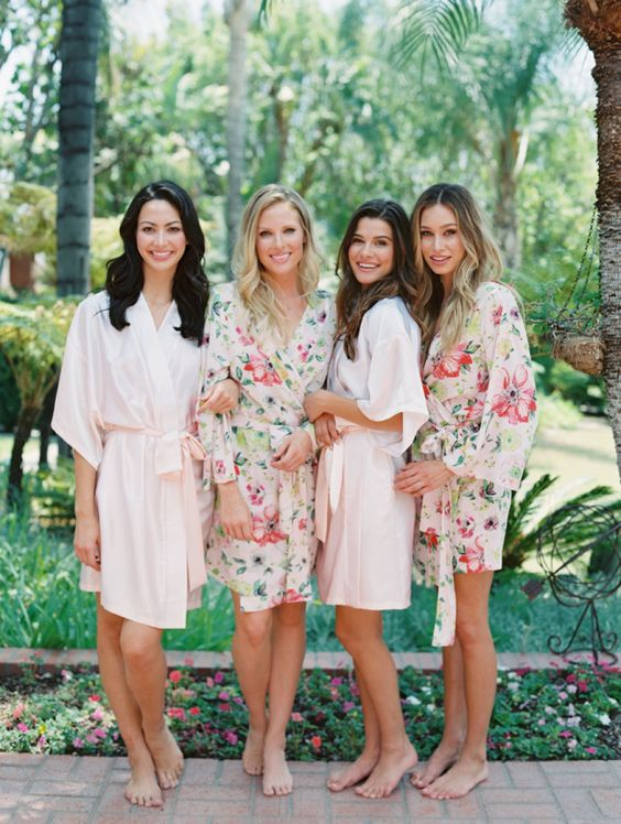mismatched-bridesmaids-robes http://itgirlweddings.com/new-collection-plum-pretty-sugar/