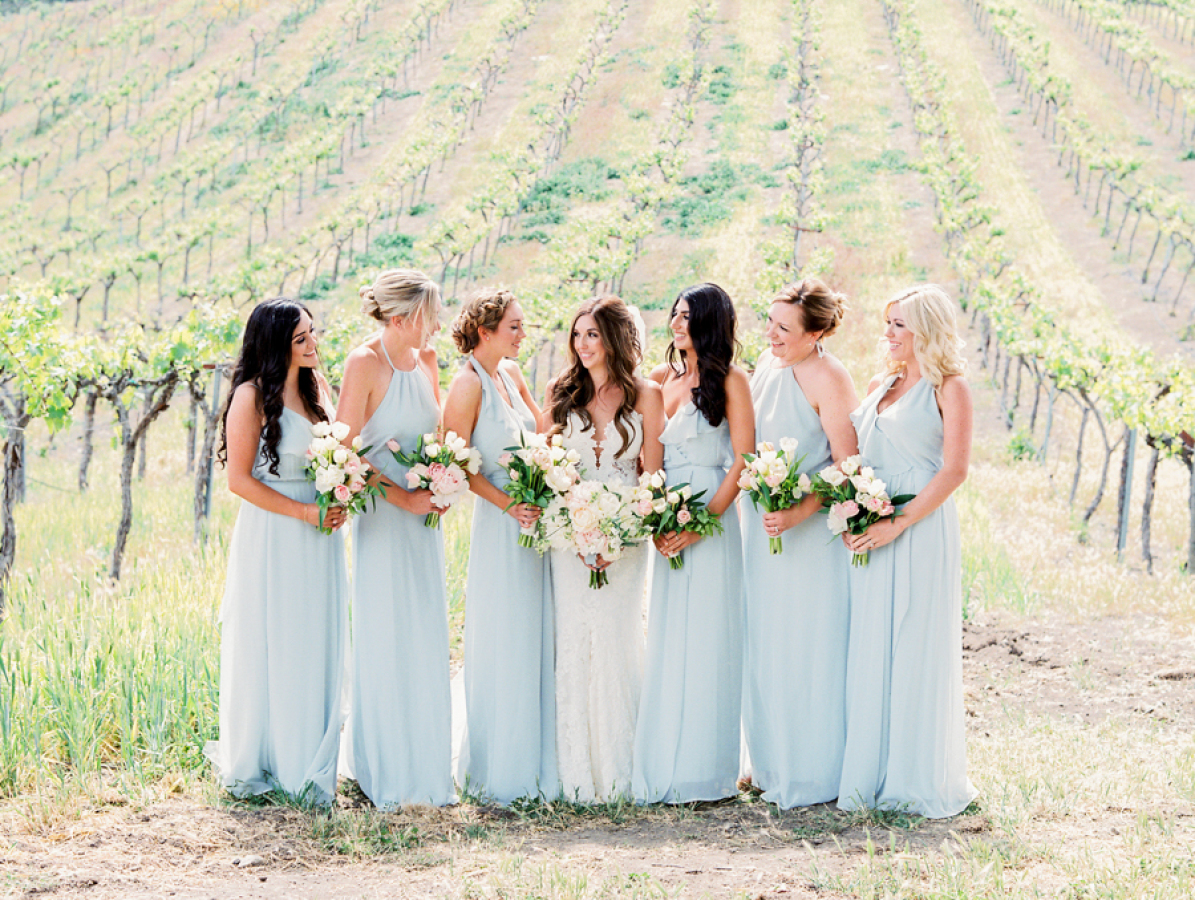 vineyard wedding backdrop http://itgirlweddings.com/pretty-vineyard-wedding/