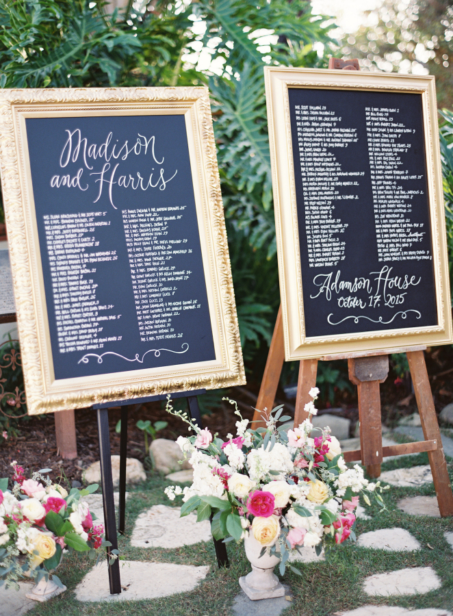 wedding seating chart sign http://itgirlweddings.com/best-day-ever/