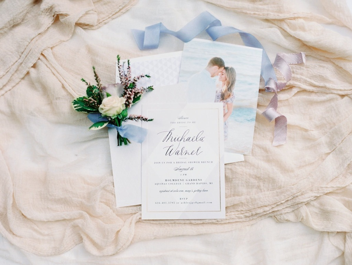 photo custom bridal shower invitations http://itgirlweddings.com/garden-bridal-shower/