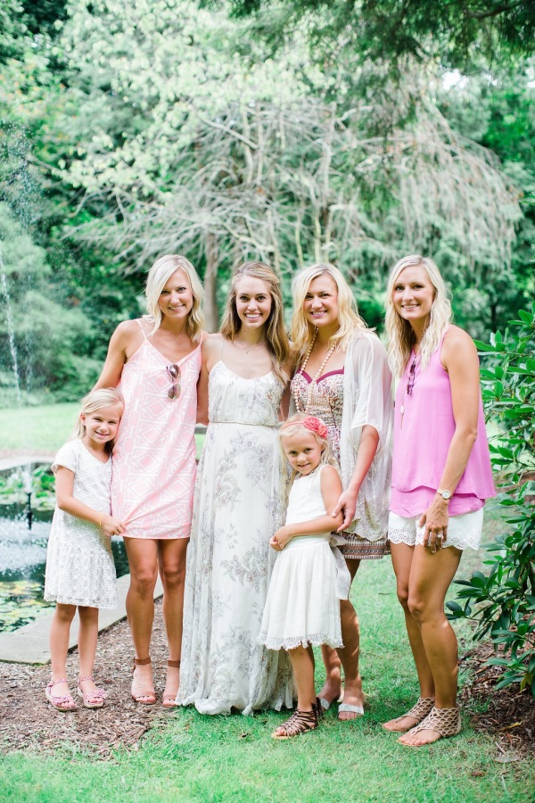 bridal shower guests http://itgirlweddings.com/garden-bridal-shower/
