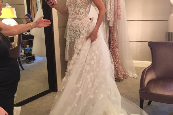 WEDDING DRESS SHOPPING WITH COURTNEY DAVIS