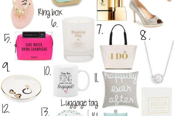 GIFTS FOR THE NEWLY ENGAGED