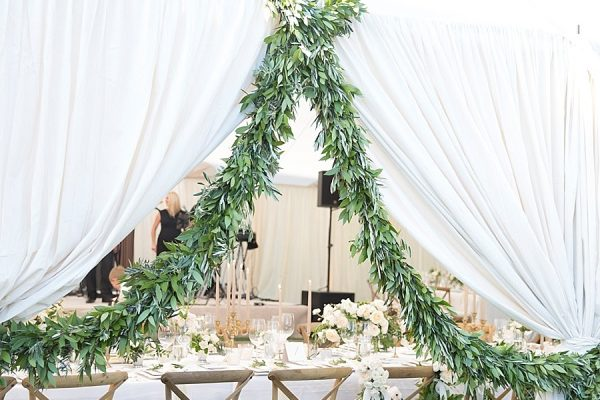 WHITE AND GREENERY SPRINGTIME WEDDING