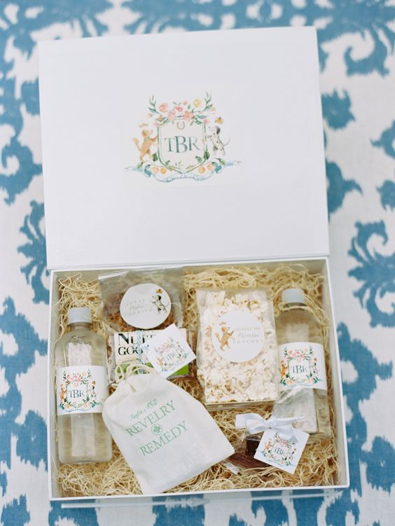 What To Put In Wedding Welcome Bag