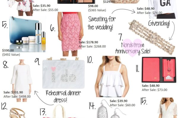 NORDSTROM ANNIVERSARY SALE WEDDING EDITION