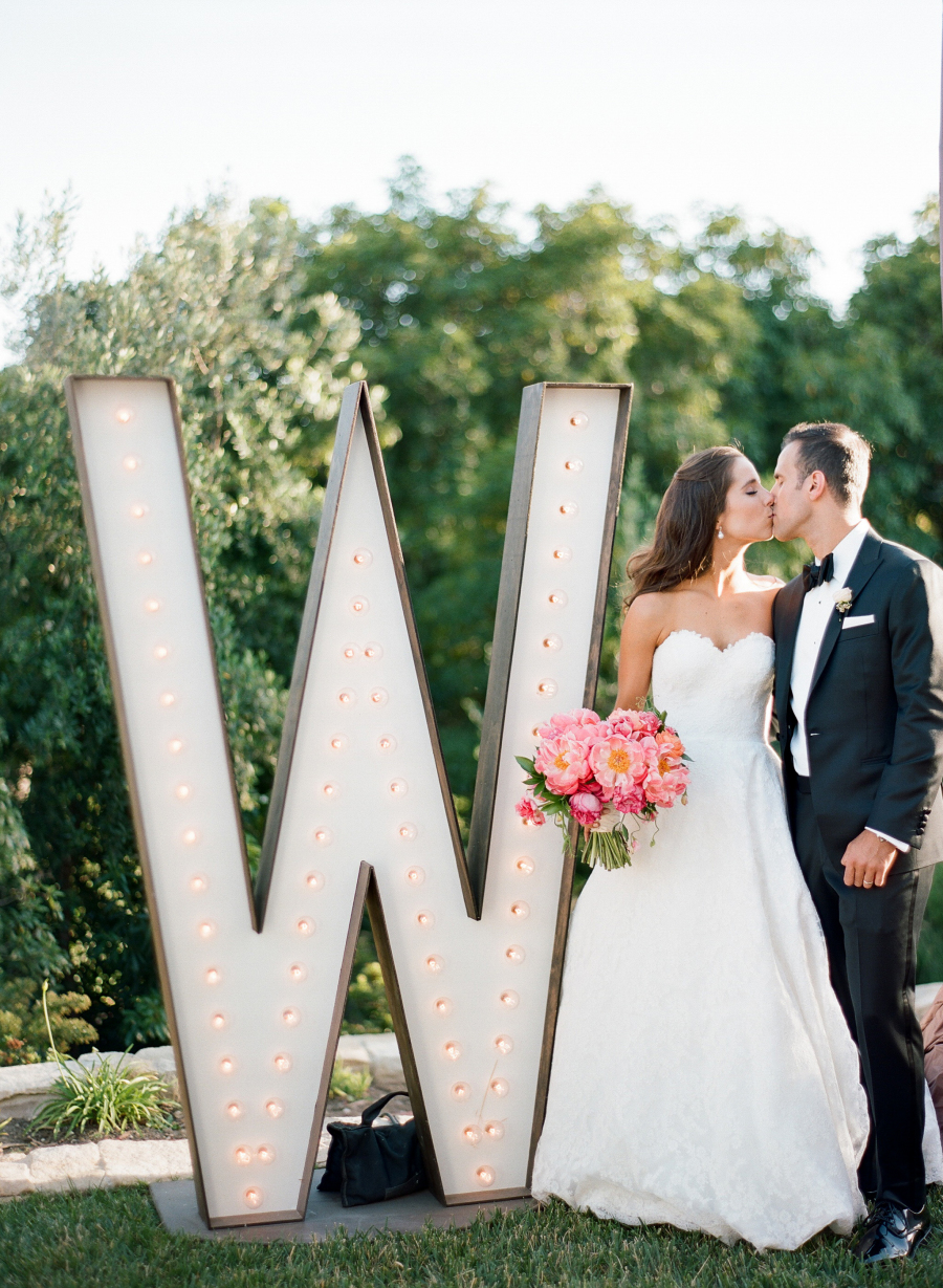 wedding marquee light up letter