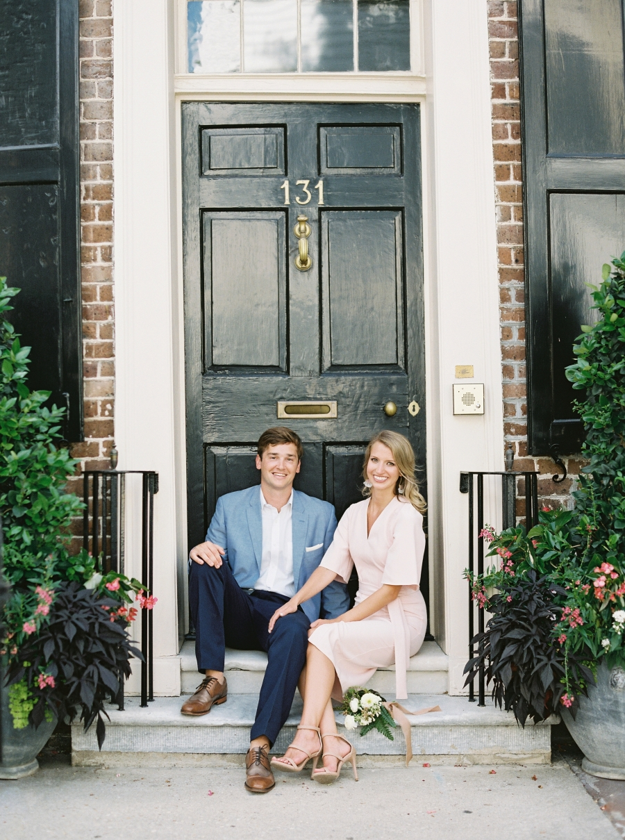 Charleston engagement sesh