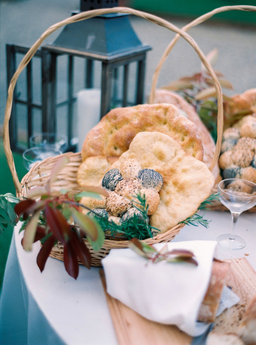 bread at a wedding