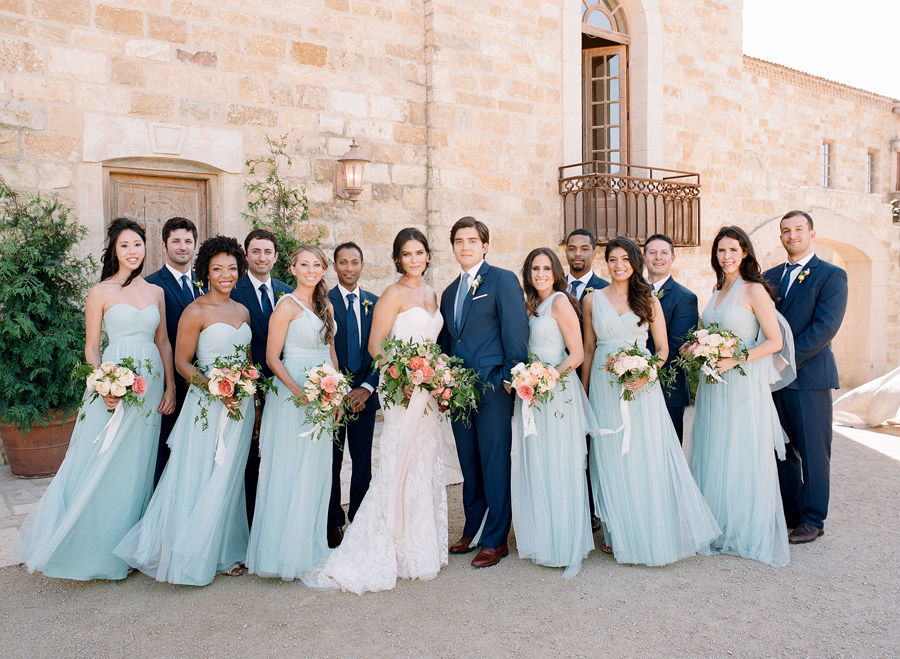 2019 hot sale hot sale diverse styles PEACH AND BLUE VINEYARD WEDDING | It Girl Weddings
