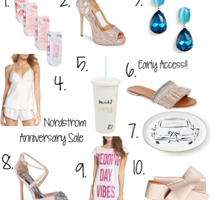 IT'S THE NORDSTROM ANNIVERSARY SALE: WEDDING EDITION