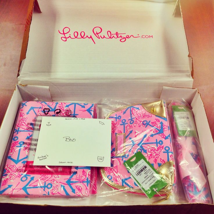Pink Lilly Pulitzer Gifts