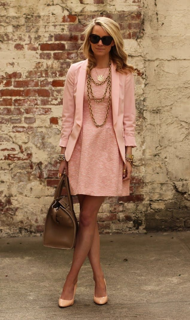 Summer Wedding Guest Outfit Spring Look Ideas Pink
