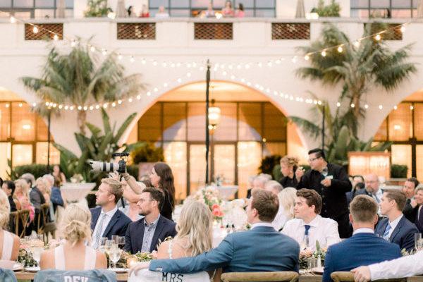A PINK COASTAL WEDDING AT THE TERRANEA RESORT