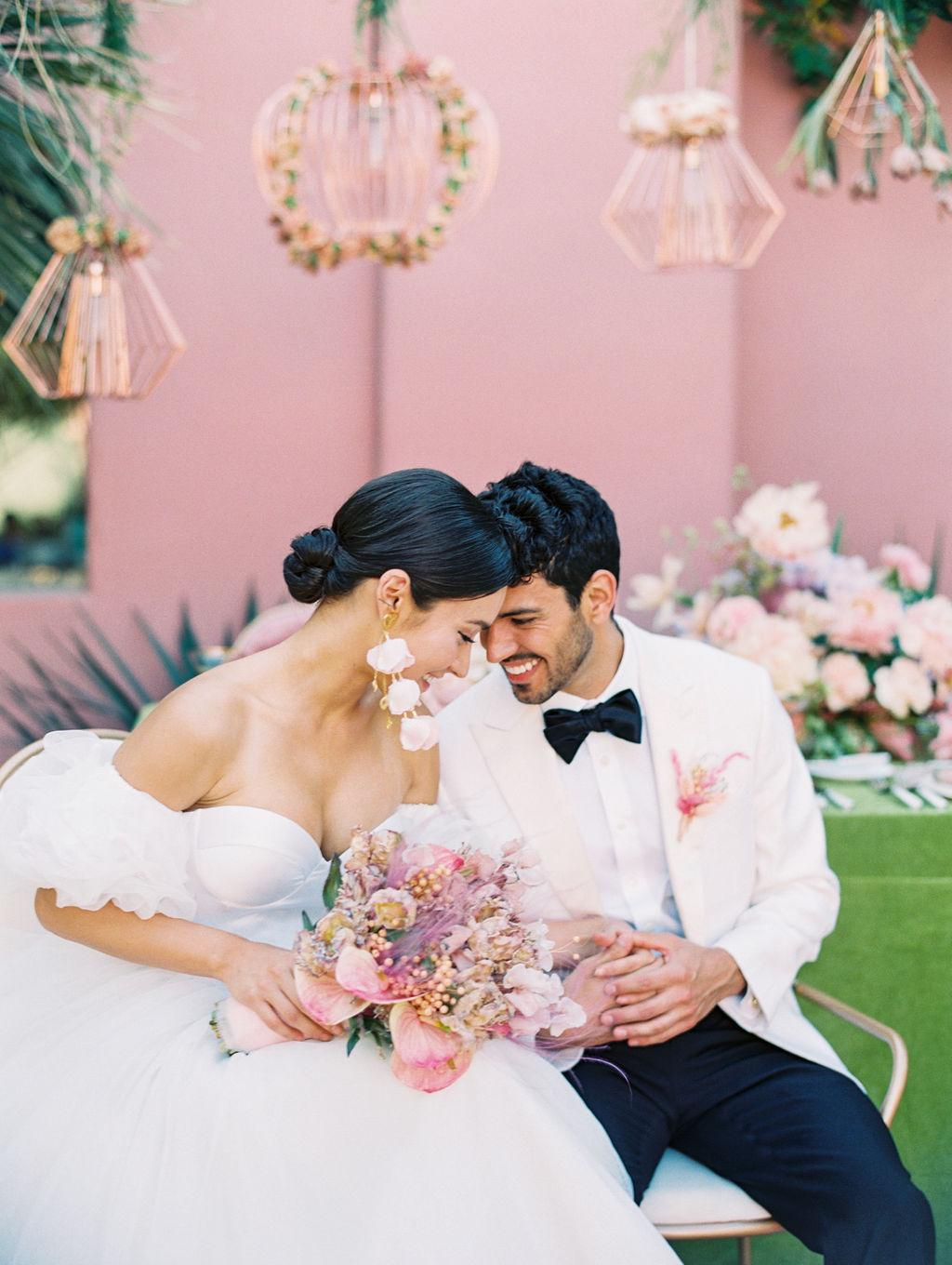 STYLED SHOOT WITH PINK TROPICAL WEDDING VIBES https://shopstyle.it/l/bhiiK